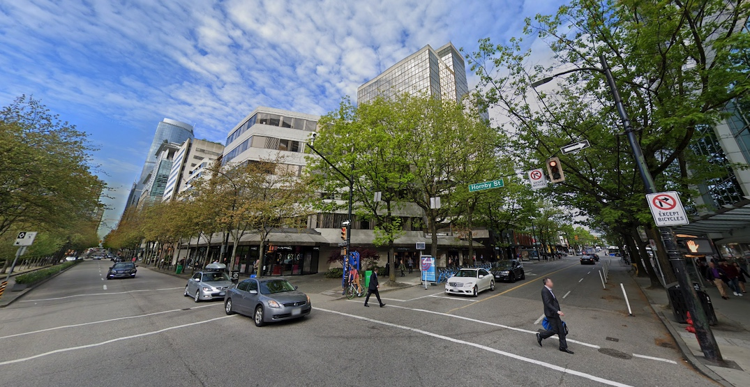 Major redevelopment with luxury hotel envisioned next to Robson Square