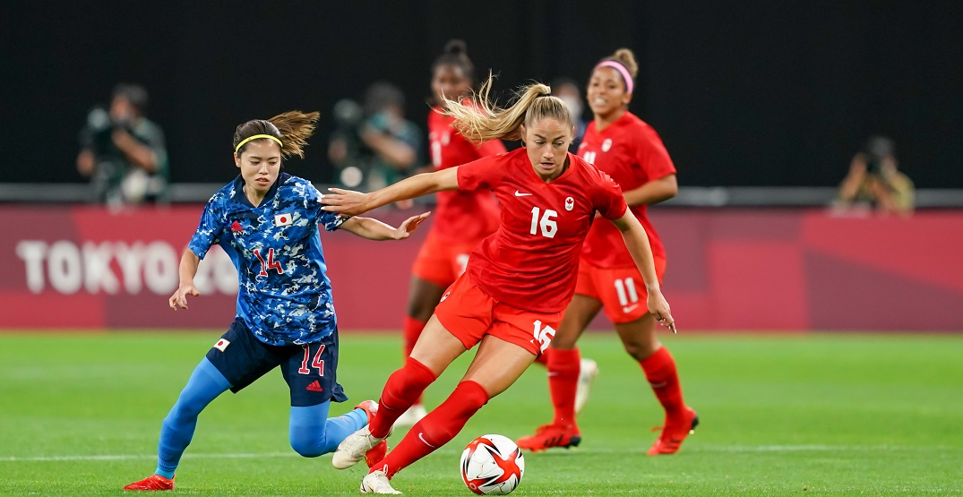 Canada draws Japan in hectic Olympics women's soccer opener