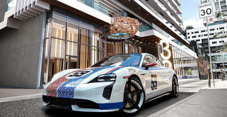Penthouses at this Toronto condo come with a free Porsche