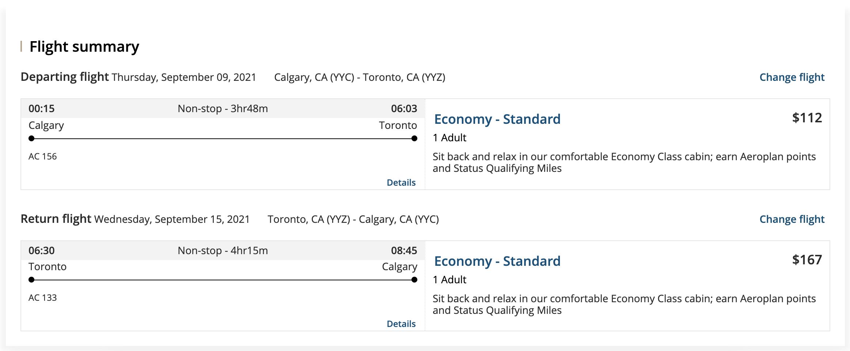 cheap Calgary flights