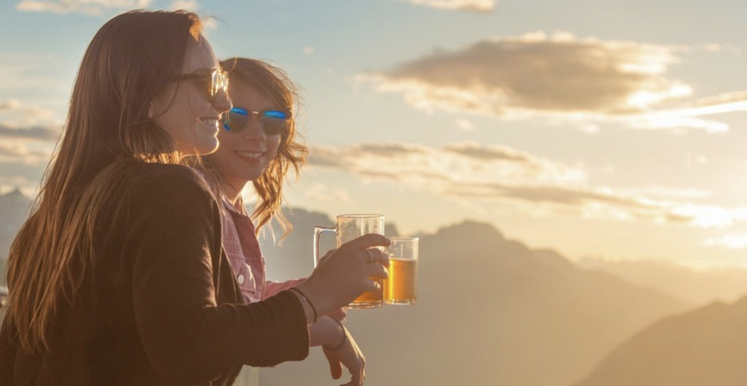 Catch a sunset while you listen to live music at this mountaintop festival