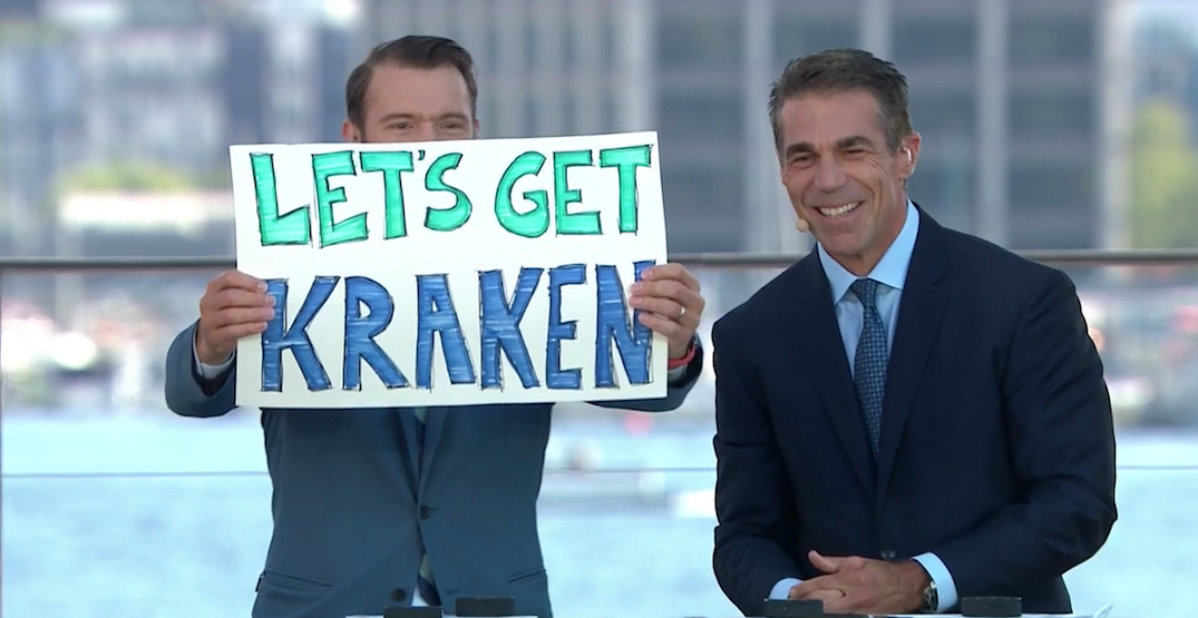 Canucks to play in Kraken's first-ever home game in Seattle this October
