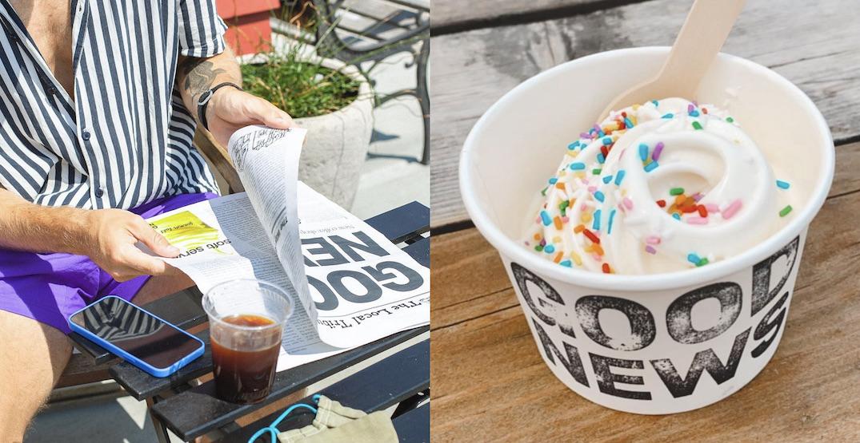 Good News: Neighbourhood spot for coffee and soft serve now open