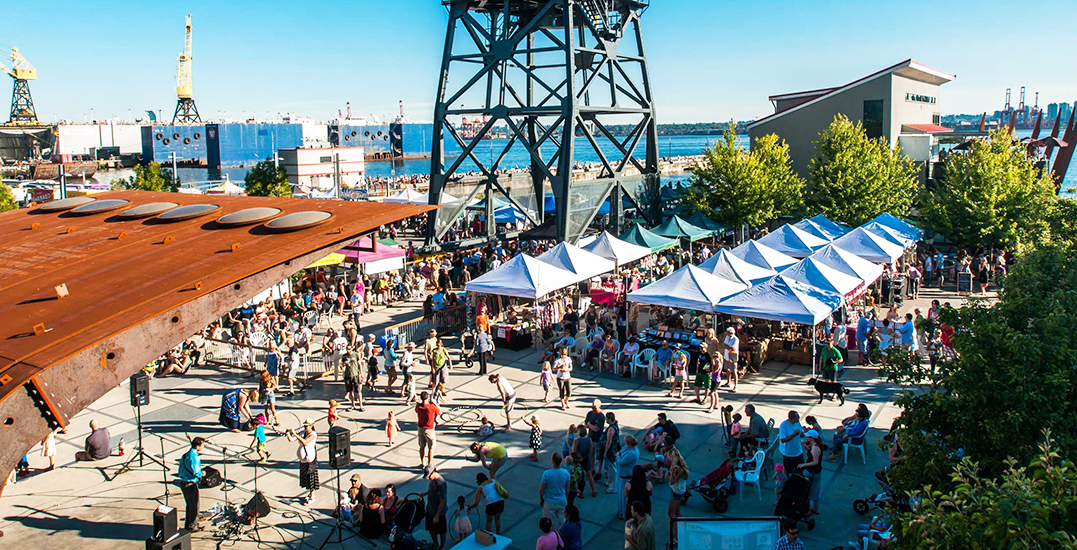 North Vancouver's eight-week food and music festival at the Shipyards kicks off today