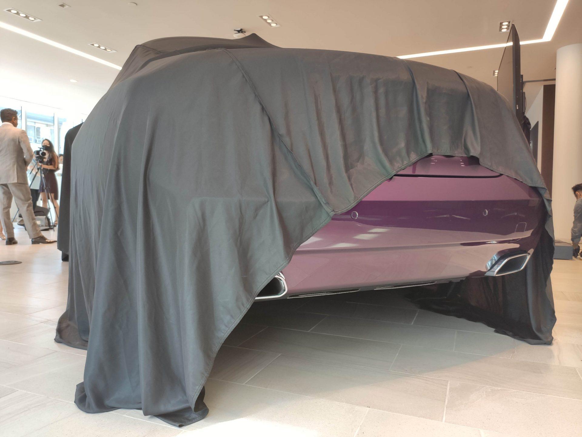 Rolls-Royce wrapped