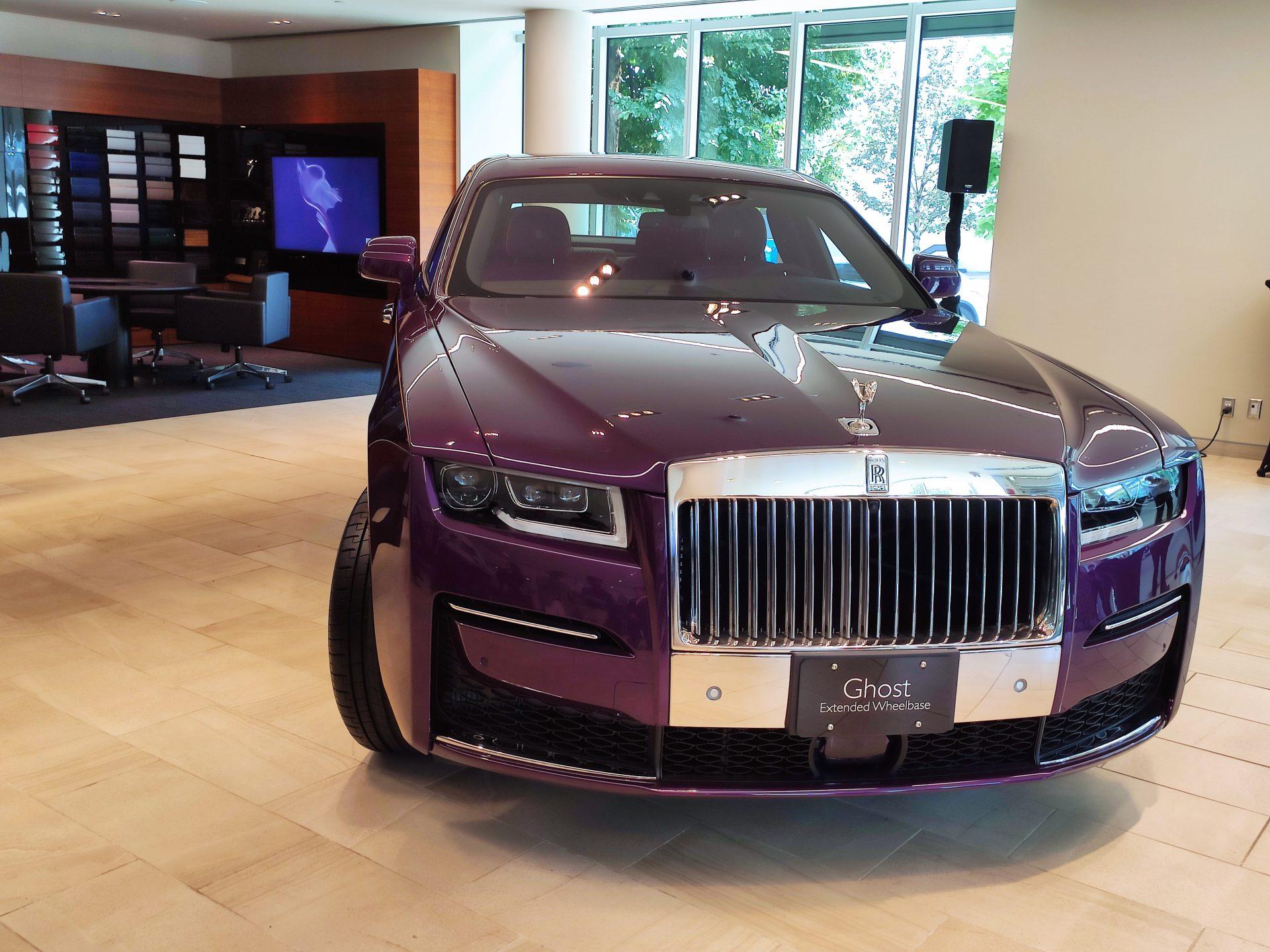 Rolls-Royce unveiled