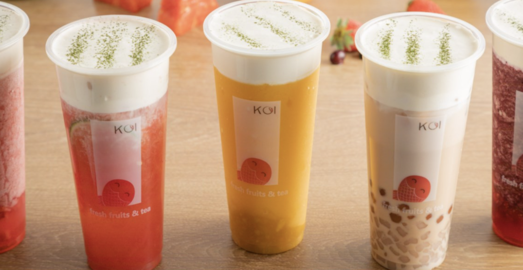 There's a bubble tea festival happening in Calgary right now