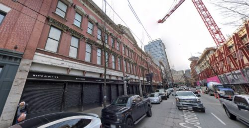 Transformative redevelopment envisioned for Vancouver's Army & Navy building