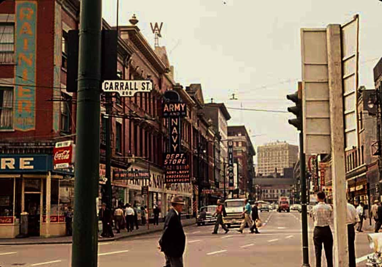 army and navy west hastings street vintage