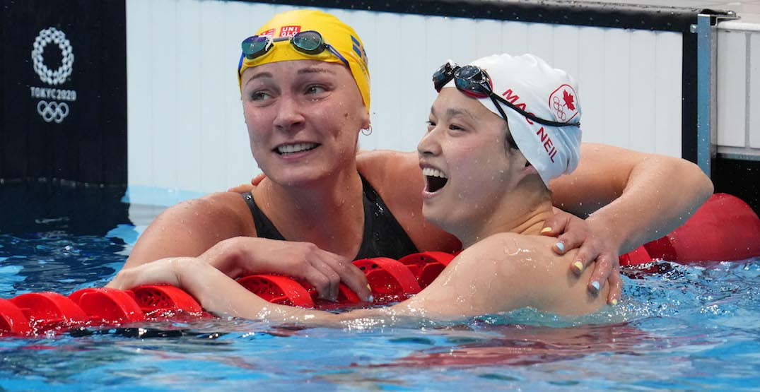 Maggie Mac Neil wins Canada's first gold medal of Tokyo Olympics