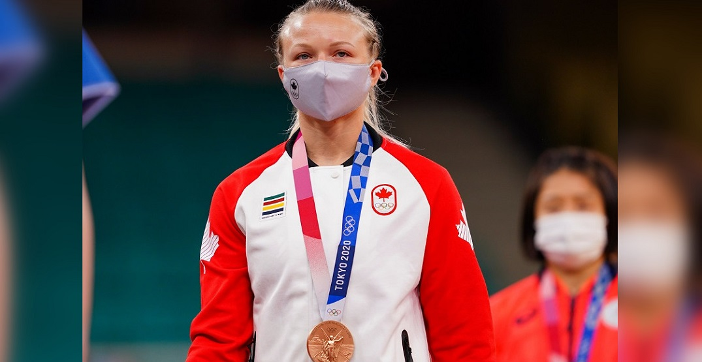 Canadian Jessica Klimkait wins Olympics bronze medal in judo