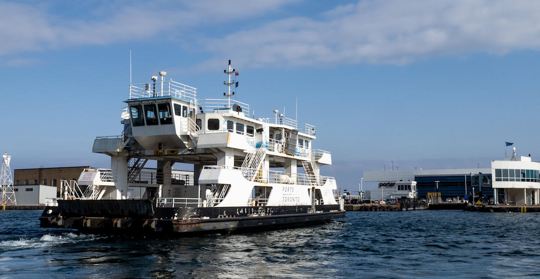 Toronto Island airport ferry first in Canada to go fully electric