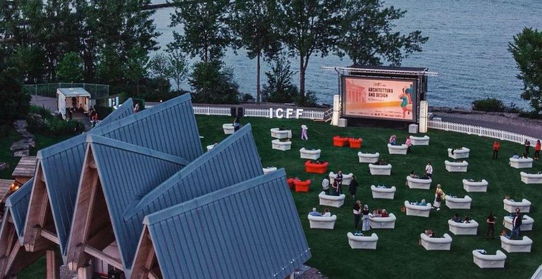 A huge open-air movie theatre is screening films in Toronto for one week