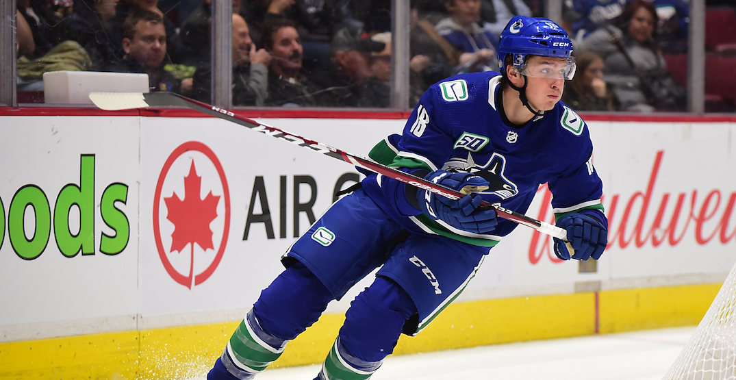 Former Canucks winger Jake Virtanen offered contract with Russian team: report