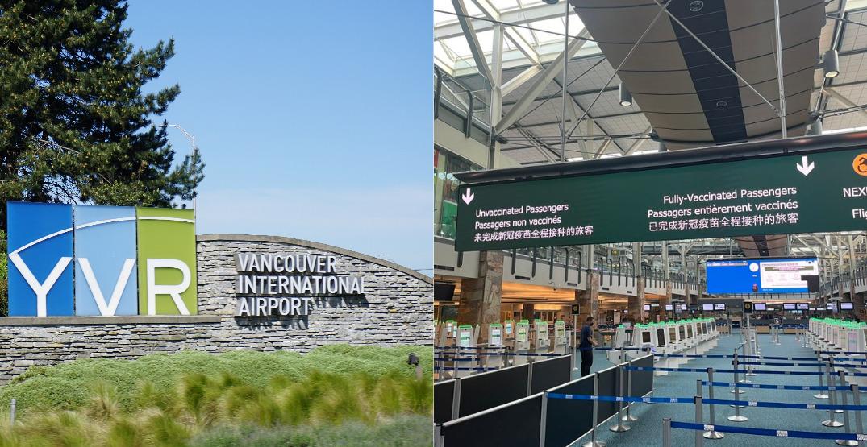 Vancouver International Airport scraps lineups based on vaccine status