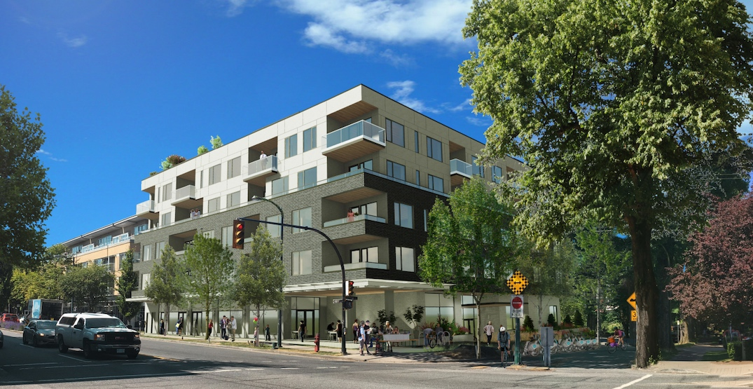 Five-storey condo and retail building proposed near SkyTrain's future Arbutus Station