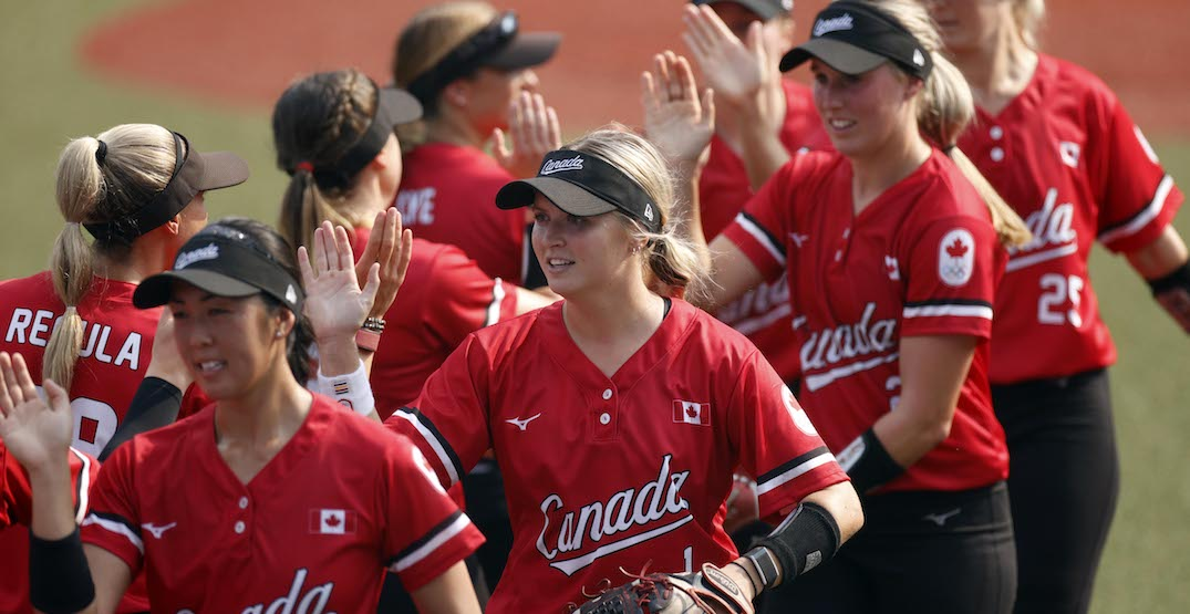 Canada wins its first-ever medal in Olympic softball