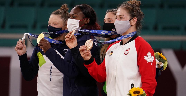 Catherine Beauchemin-Pinard wins Canada's second judo medal of Olympics