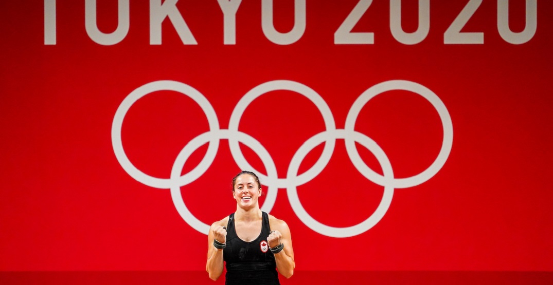 Canadian Maude Charron wins weightlifting gold medal at Tokyo Olympics