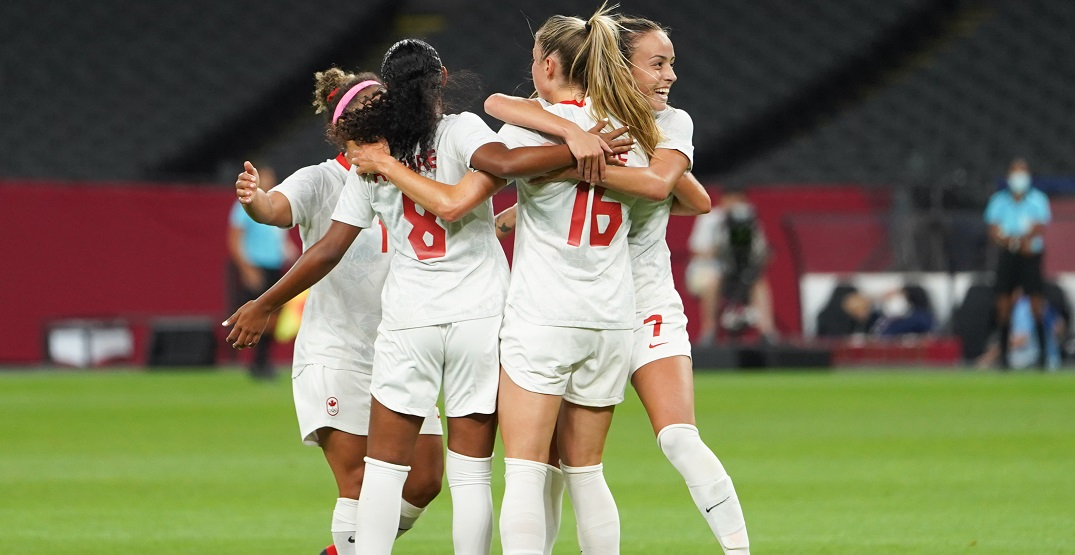 Canada's women's team set to play Brazil in Olympic soccer quarterfinal