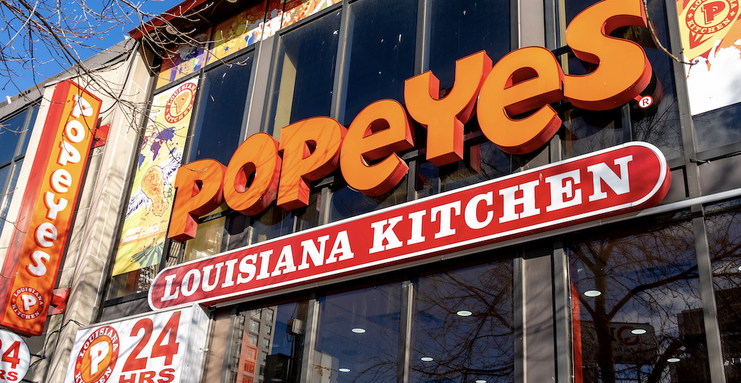 Popeyes Chicken Nuggets are launching across Canada today
