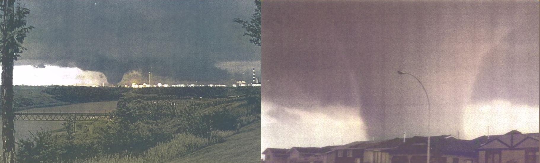 A massive tornado tore through Edmonton 34 years ago this week