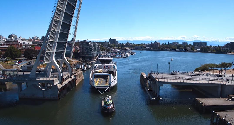 bc ferries island class victoria inner harbour