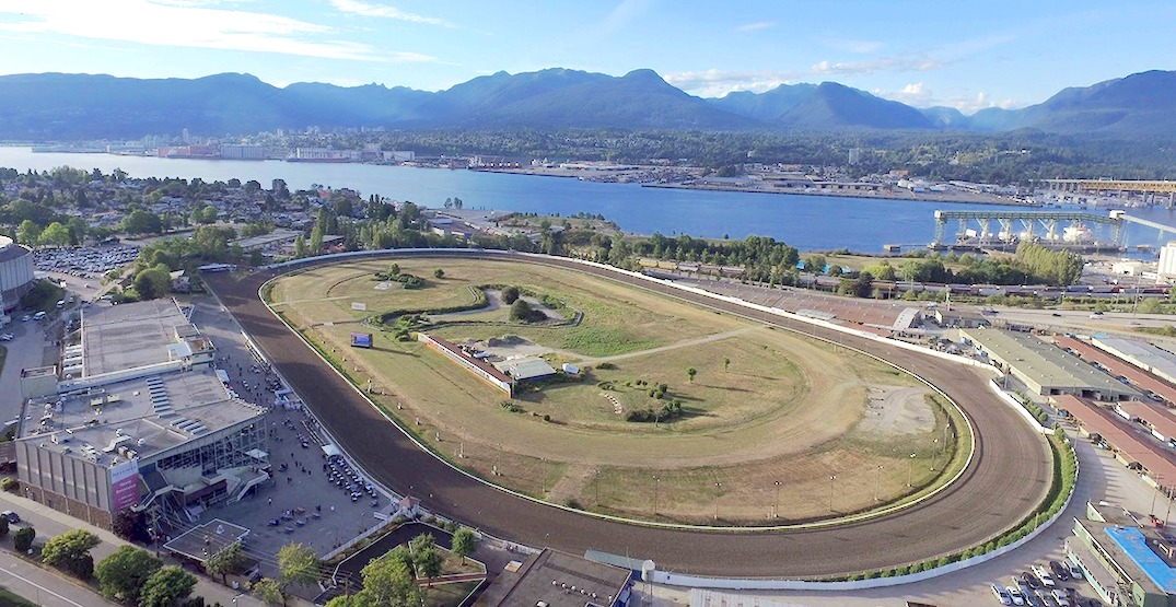 New horse racing track in Langley proposed to replace Hastings Racecourse and Fraser Downs