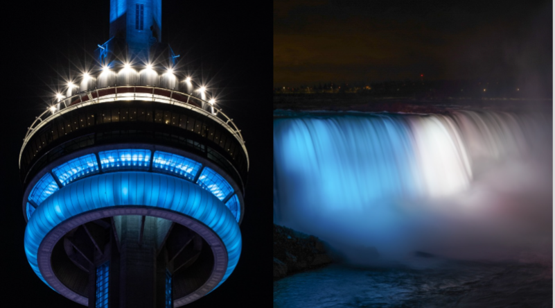 CN Tower, Niagara Falls to be lit up for Blue Jays' return to Toronto