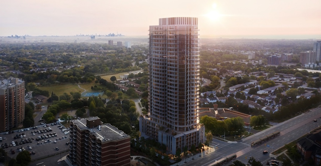 Downtown Mississauga is getting a stunning 32-storey condo tower
