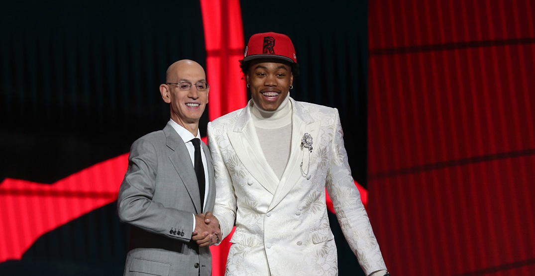 Raptors officially pick Scottie Barnes at fourth overall in NBA Draft