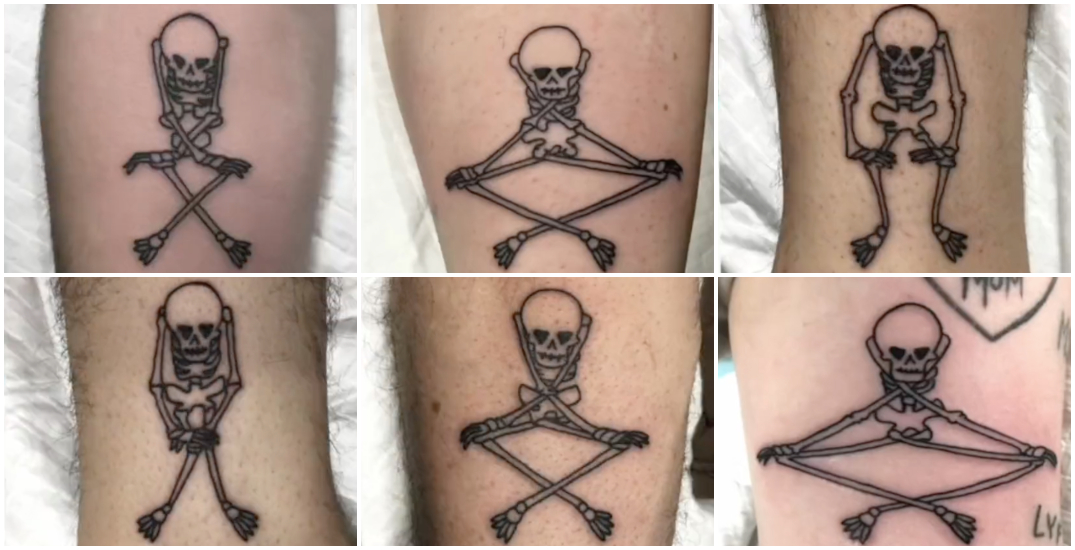 Montreal artist goes viral on TikTok showing stop motion tattoo animation (VIDEOS)