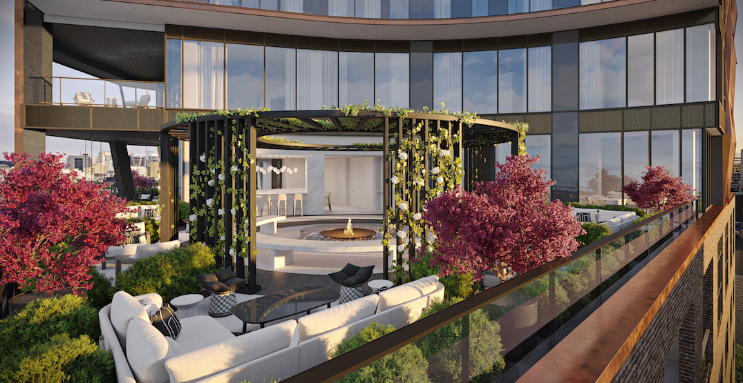 Chic new 47-storey condo tower coming to Adelaide West (RENDERINGS)