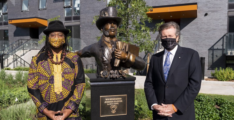 Toronto unveils new statue of historic abolitionist figure Joshua Glover