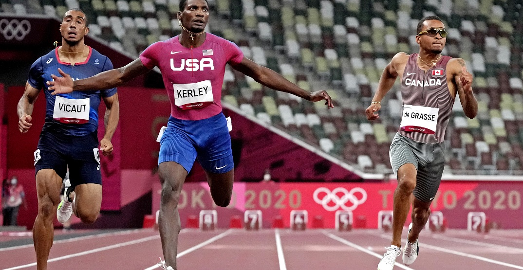 Canadian Andre De Grasse qualifies for Tokyo Olympics 100m final