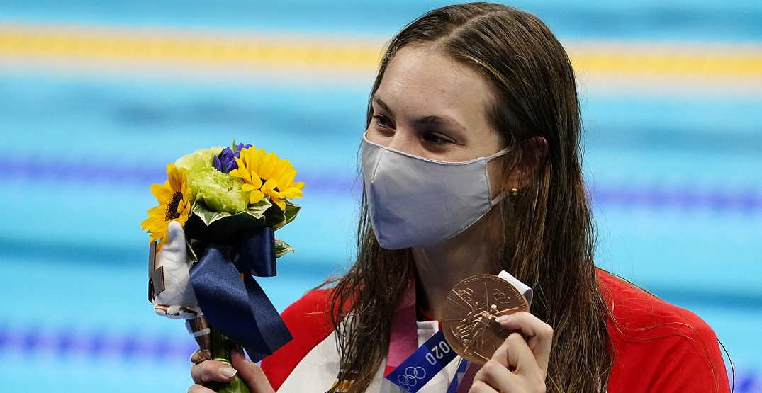 Here's how Penny Oleksiak won each of her Canadian record seven Olympic medals