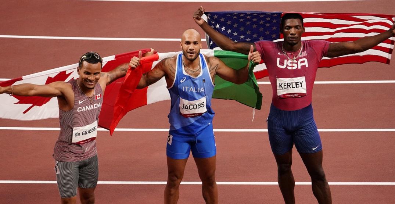 Canadian Andre De Grasse wins Tokyo Olympics 100m bronze
