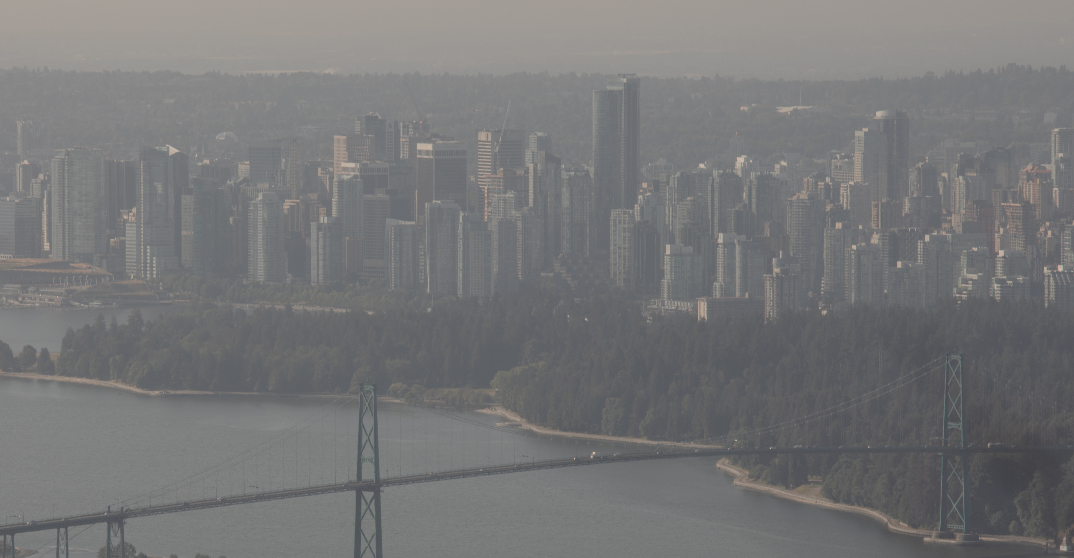 Air quality advisory for Metro Vancouver, Fraser Valley remain in effect