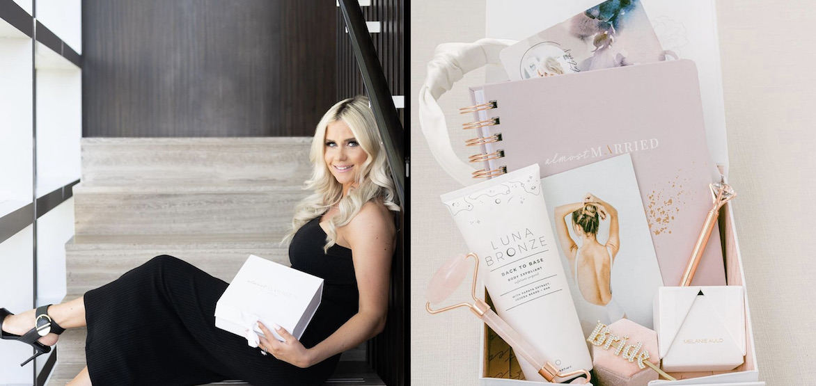 This bridal box has everything you need to plan and enjoy your wedding