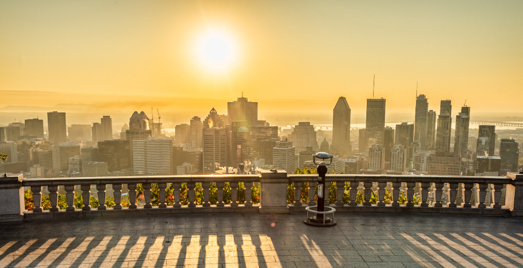 It's forecast to feel like 35ºC in Montreal this week