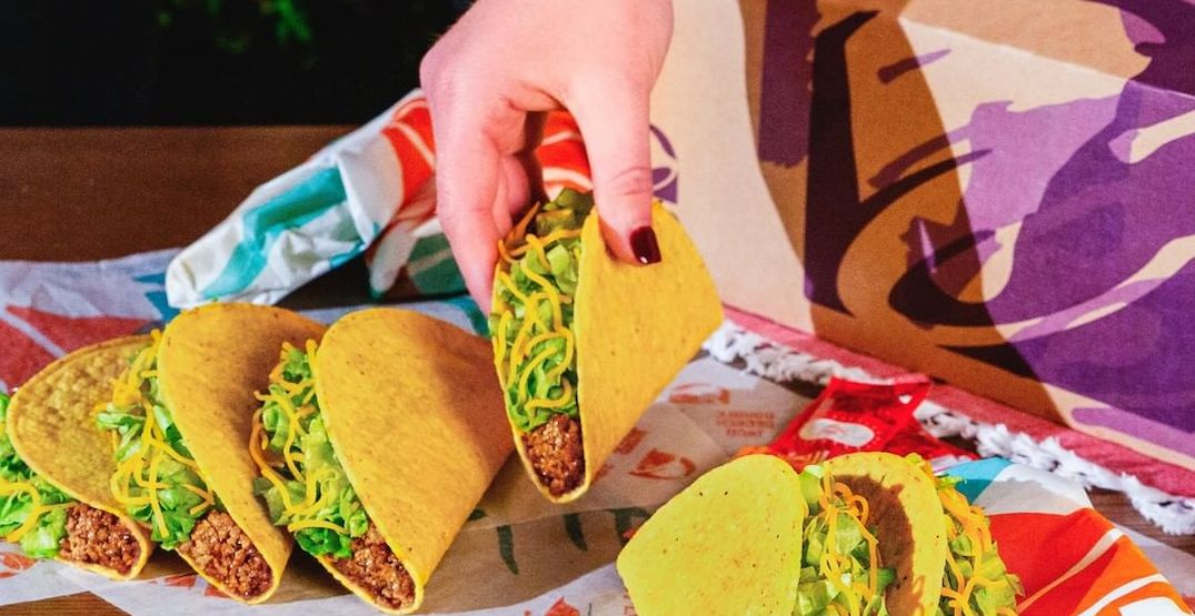 Taco Bell Canada is giving out free tacos next week
