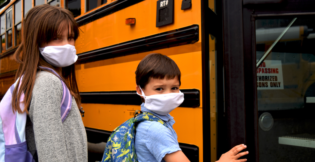 Mandatory masks now required indoors for children over five in BC