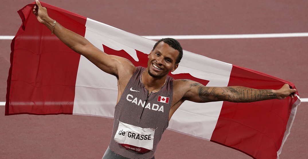 Canadian support comes pouring in for Olympic 200m champion Andre De Grasse