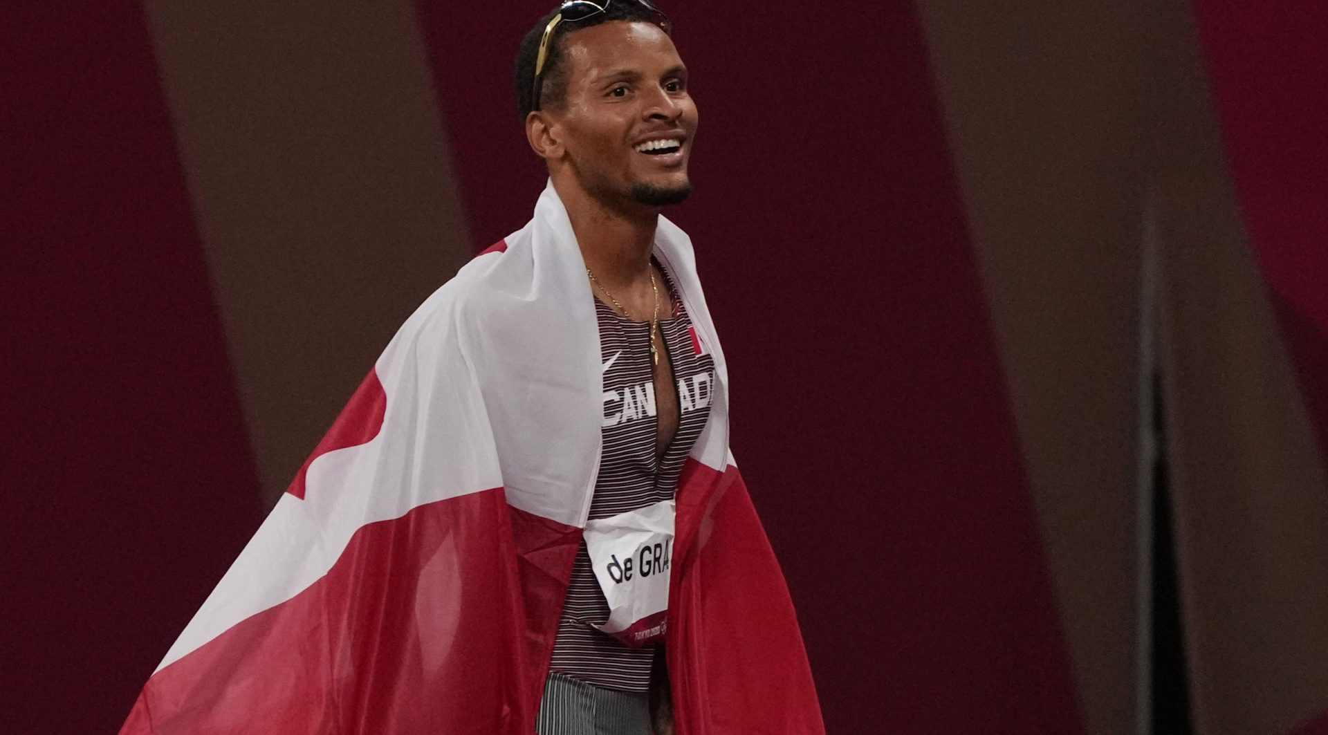 """Andre De Grasse on winning first Olympic gold medal: """"I finally got it done"""""""