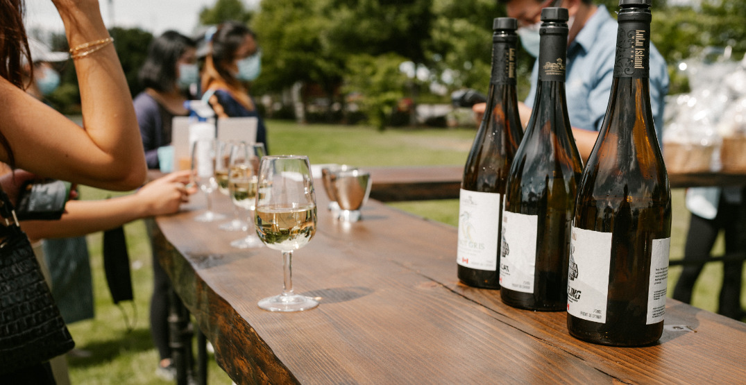 Lulu Island Winery hosting sip, shop, and snack event this month