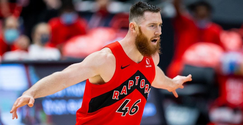 Raptors cut ties with centre Aron Baynes after one season