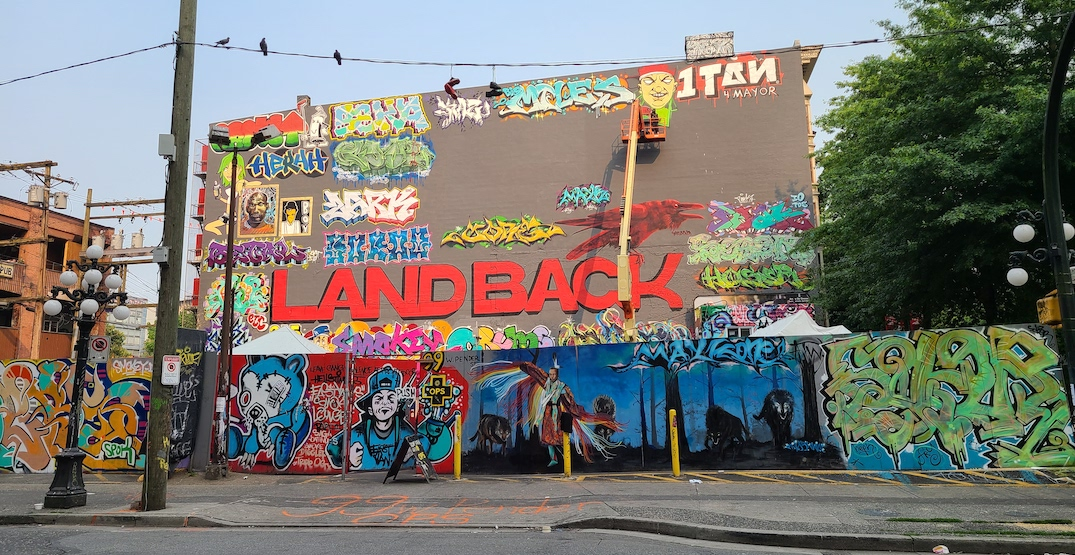 Six-storey wall next to Chinatown drug inhalation site now covered with graffiti