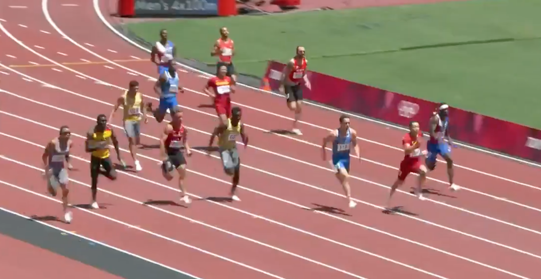De Grasse saves Canadian Olympic relay team with amazing final leg (VIDEO)