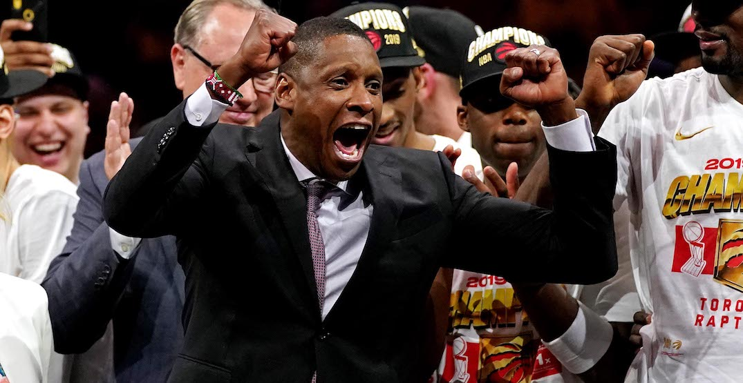 """""""I'm here to stay"""": Masai Ujiri signs new deal to remain with Raptors"""
