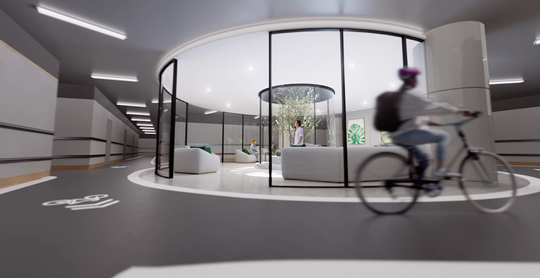 World's largest condo bike amenity to be built into Metro Vancouver's future tallest tower